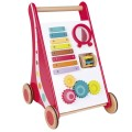 eurekakids-lauflernhilfe mit aktivit-oten baby walker colors